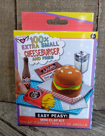 Cheese Burger Mini Clay Kit