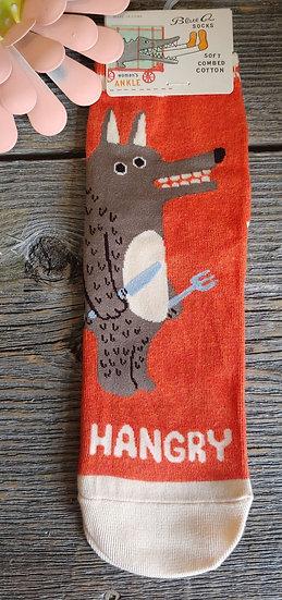 Hangry - Ladies Ankle Sock
