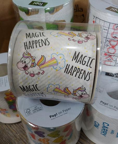 Magic Happens  - Designer Toilet Paper