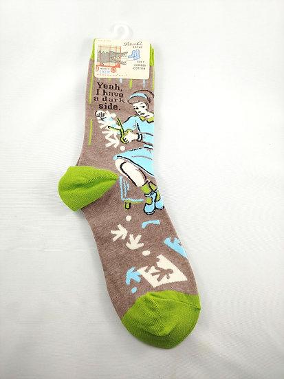 Yeah, I have a dark side, Socks