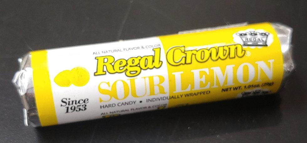 Regal Crown - Sour Lemon Hard Candy