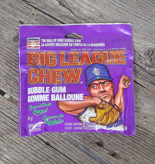 Big League Chew Bubblegum - Grape