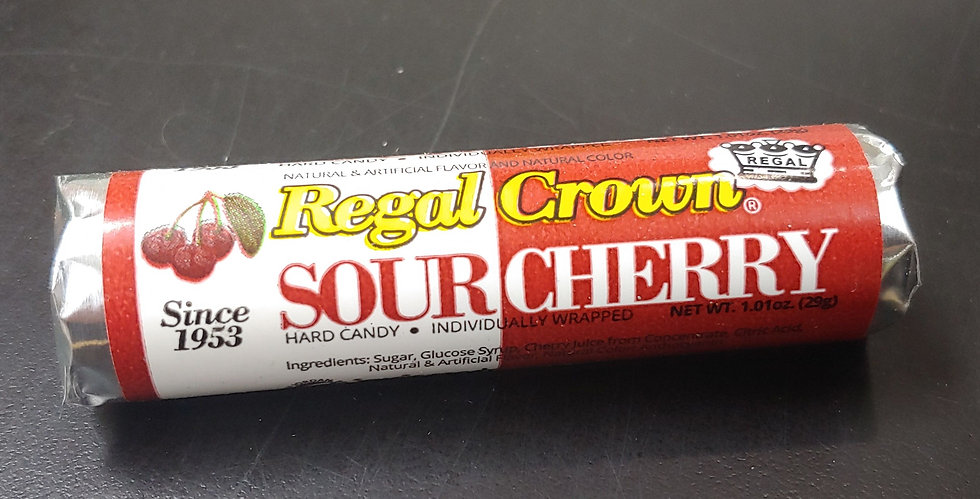 Regal Crown - Sour Cherry Hard Candy