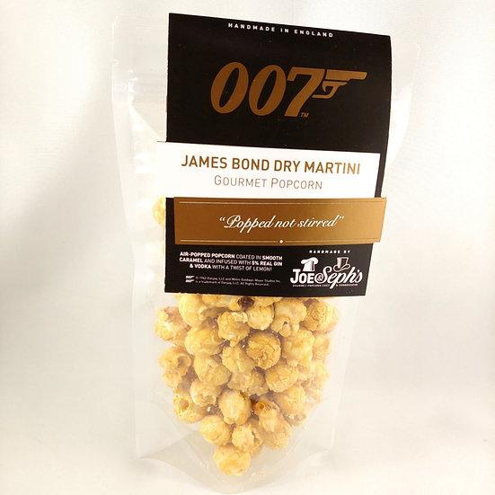 James Bond Dry Martini Popcorn