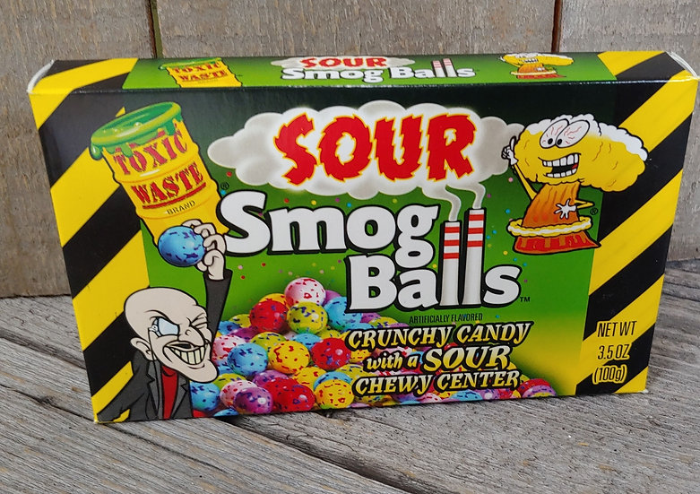 Sour Smog Balls - Theatre Box