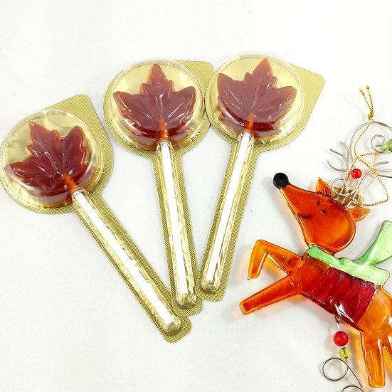 Maple Lollipops
