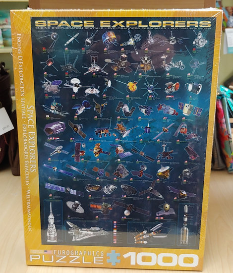 Space Explorers -1000 PC puzzle