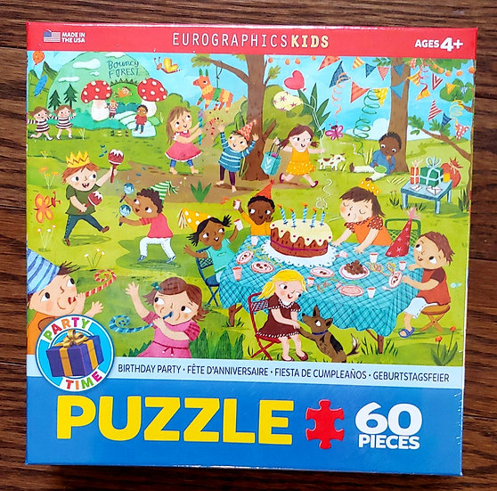 Kids Birthday Party Puzzle -60 pc