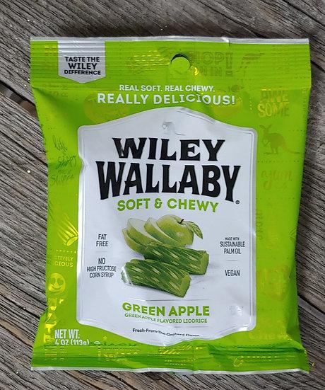Wiley Wallaby Green Apple Liquorice