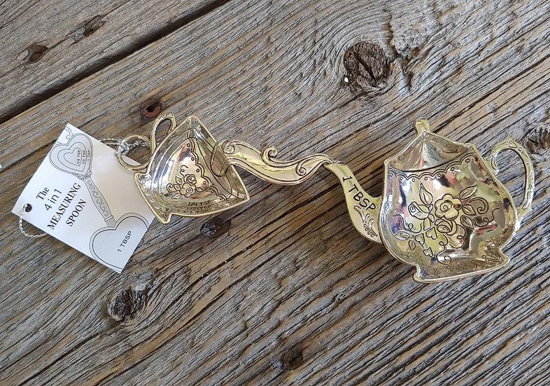 Teapot 4 in 1 Measuring Spoon