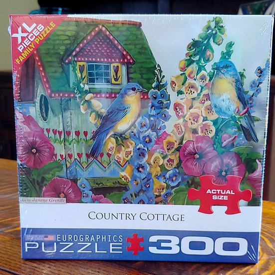 Country Cottage Puzzle - 300 pc