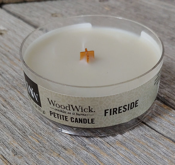WoodWick Petit Candle - Fireside