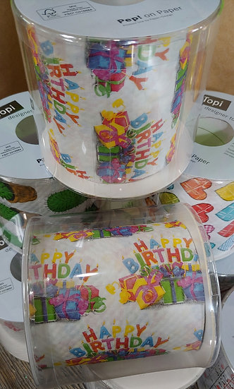 Happy Birthday - Designer Toilet Paper