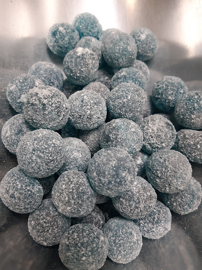 Mega Sours - Blue Raspberry - 100 gr