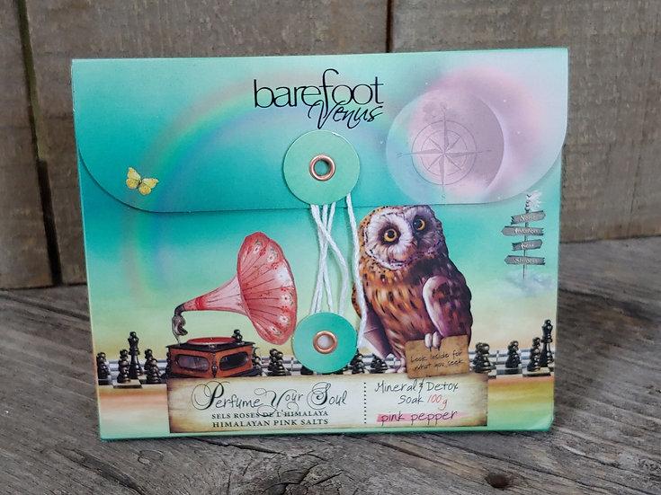 Barefoot Venus Detox Soak- Pink Pepper - 100 gr
