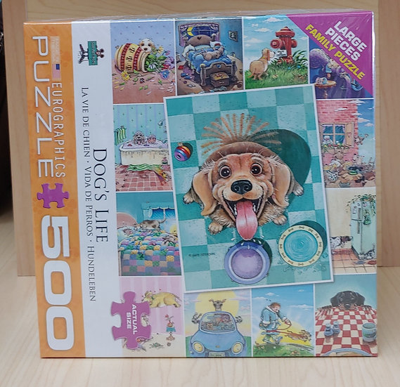 Dogs Life -500 PC Puzzle