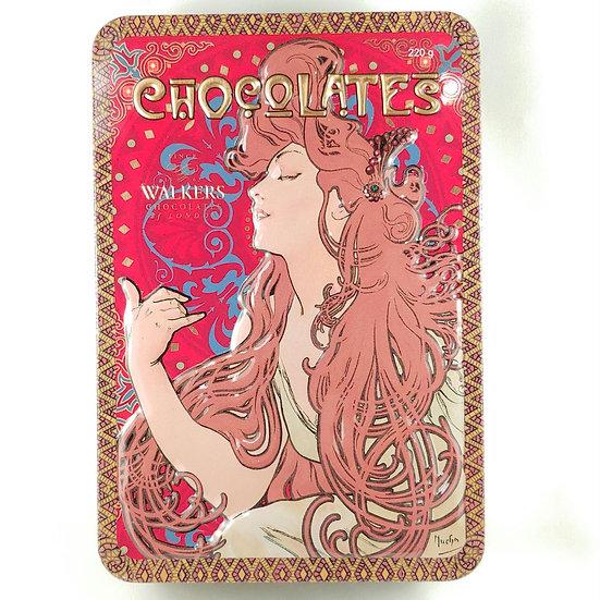 Walkers Chocolate Mint Tin
