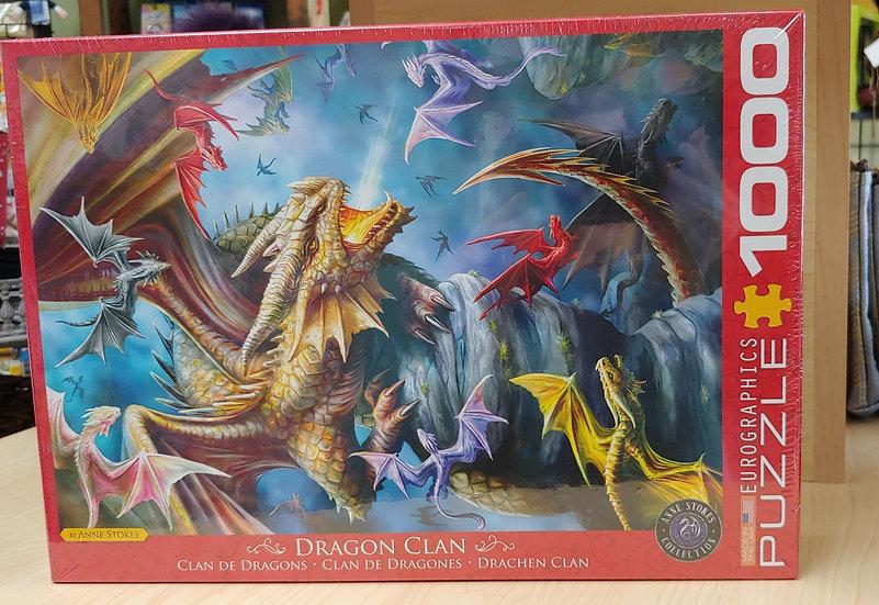 Dragon Clan -1000 pc Puzzle