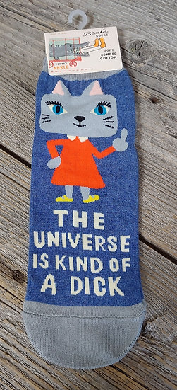 The Universe is Kind of a Dick - WOmen's Ankle Socks