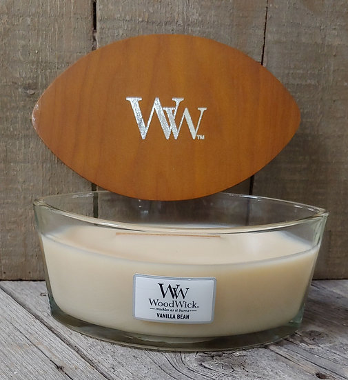WoodWick Candle -16 oz - Lavender Spa