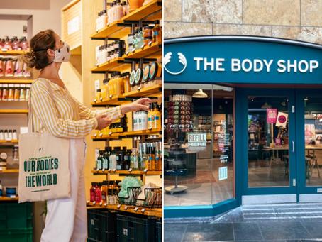 🥳 The Body Shop s'engage à être certifié 100% vegan d'ici 2023 !