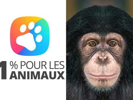 🐾 Naissance du nouveau label «1% pour les animaux» : Les entreprises au secours de la faune