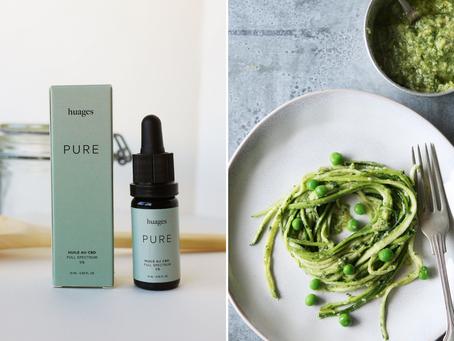 🌱 Recette du pesto aux brocolis et huile de CBD !