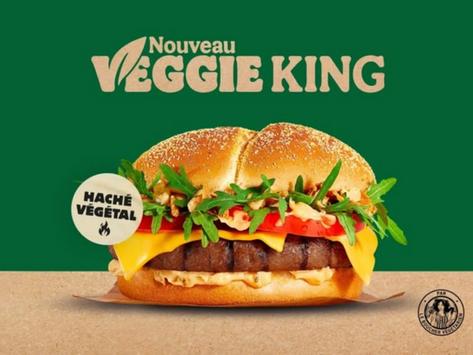 🙄 Le Veggie King de Burger King arrive en France. Le végétalien, c'est pour quand !?