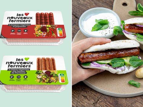 🌭 À nous les barbecue ! Les Nouveaux Fermiers lance les 1ères chipos et merguez végétales !