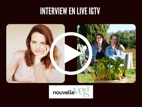 🎥 LIive igtv La Canopée : success story d'une marque française de beauté vegan fondée par 2 soeurs