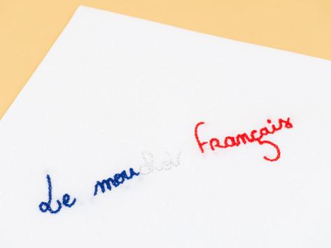 🇫🇷 LE MOUCHOIR FRANÇAIS : À NOS SOUHAITS !