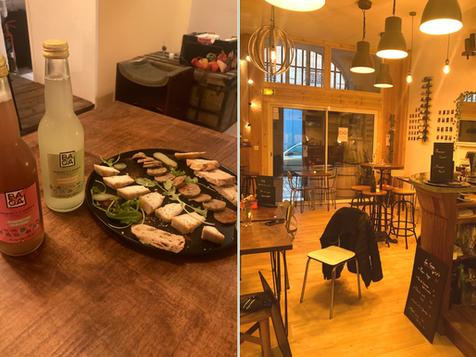 🍷 Le premier bar à vins et à tapas vegan de Bordeaux : Raisin de Plus