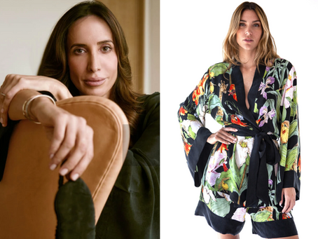 🌸 niLuu : la première soie végétalienne biodégradable de loungewear de luxe labellisée PETA