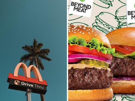 🍔 McDonald's et Beyond Meat s'unissent pour lancer une gamme à base de plantes