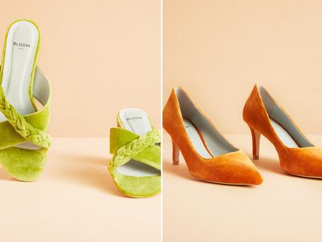👡 Bloom Paris, les nouvelles chaussures en velours vegan ambiance dolce vita
