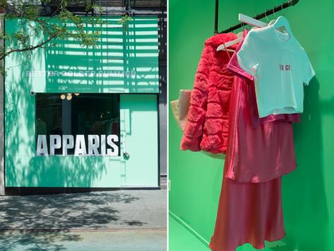 🗽 Apparis, la marque de mode vegan qui cartonne à New-York fête ses 5 ans avec son premier flagship