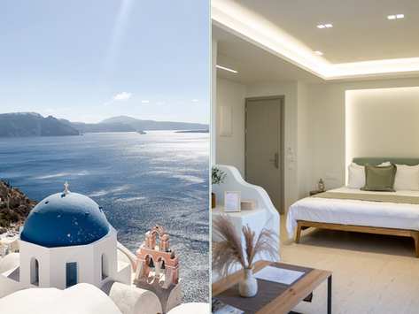 🇬🇷 Le premier hôtel-boutique vegan de Santorin a ouvert : le MOD Santorini