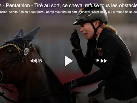 🏇 JO 2024 : le pentathlon simplifié, après l'exclusion de Kim Raisner pour coup sur un cheval