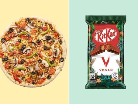 🍕 Alerte junk-food vegan : un nouveau Kitkat et des pizzas Domino's 100% végétaliennes !