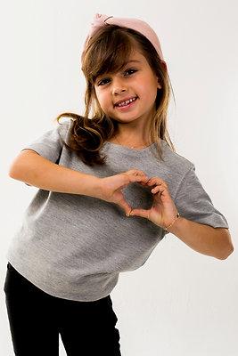 Blusa Unissex Infantil Carmel Silk Mescla