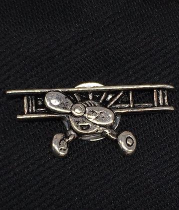 TA-160020 2D Biplane Tie Tack