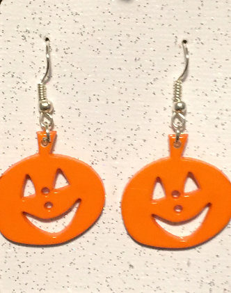 E-200017 Pumpkin earrings