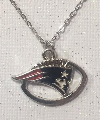 NC-180112 Custom New England Patriots necklace