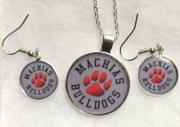 EC-180102 Custom Machias Bulldogs set