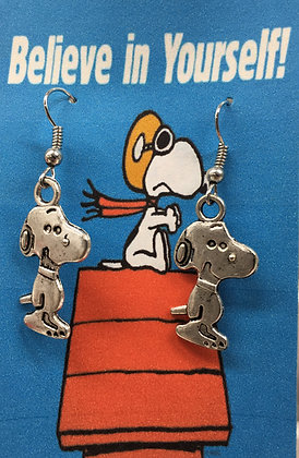 EA-160070 Snoopy Earrings