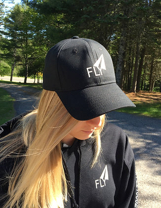 "Fly Logo Baseball Hat - Front/Back ""FLY"""