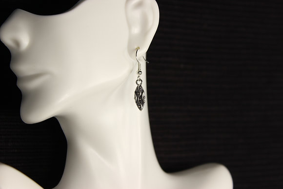 E-160026 Small Silver Feather Charm