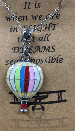 NA-160017 Colored Balloon Necklace