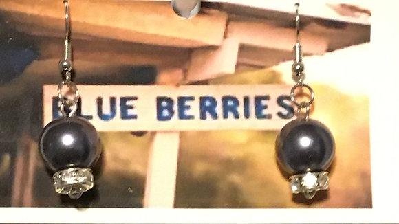 E-2000004 Single Blueberry earrings