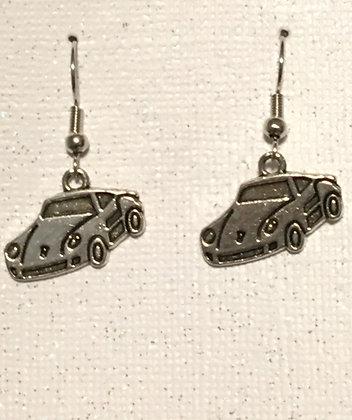 EAO-200002 Silver Porsche earrings